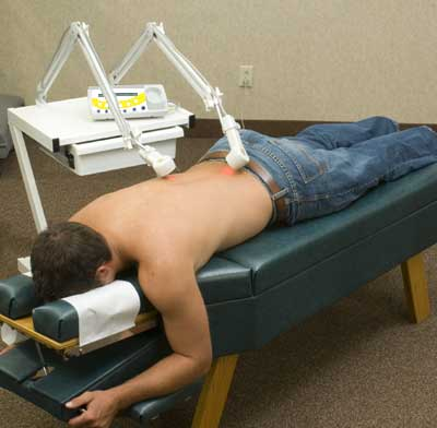 hands free laser, hands free cold laser, unattended laser therapy
