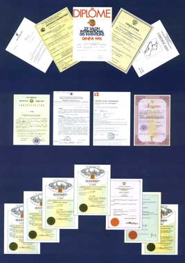 Terraquant Elite Certificates