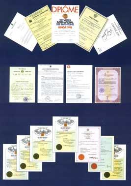 Terraquant Elite Certificates